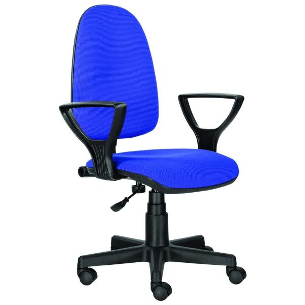 Кресло компьютерное Brabix Prestige Ergo MG-311 Black Blue (531876)