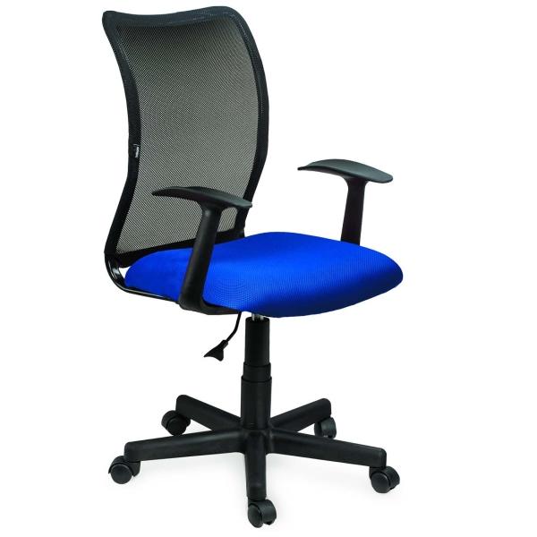 Купить Кресло компьютерное Brabix Spring MG-307 Blue/Black (531404) в каталоге интернет магазина М.Видео по выгодной цене с доставкой, отзывы, фотографии - Москва