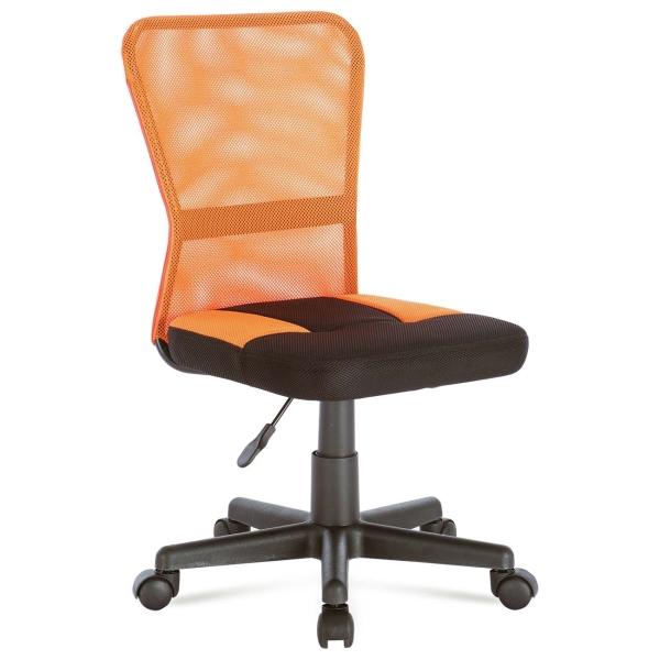 Кресло компьютерное Brabix Smart MG-313 Black/Orange (531844)