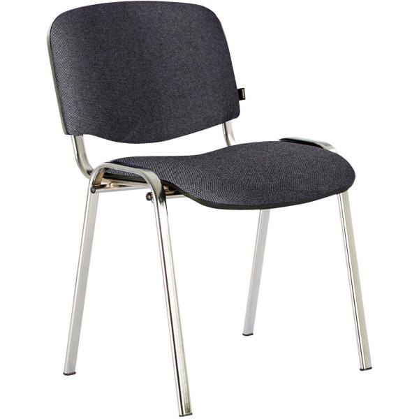 Кресло компьютерное Brabix Iso CF-001 Grey/Black (531420) - наличие в магазинах М.Видео - Москва