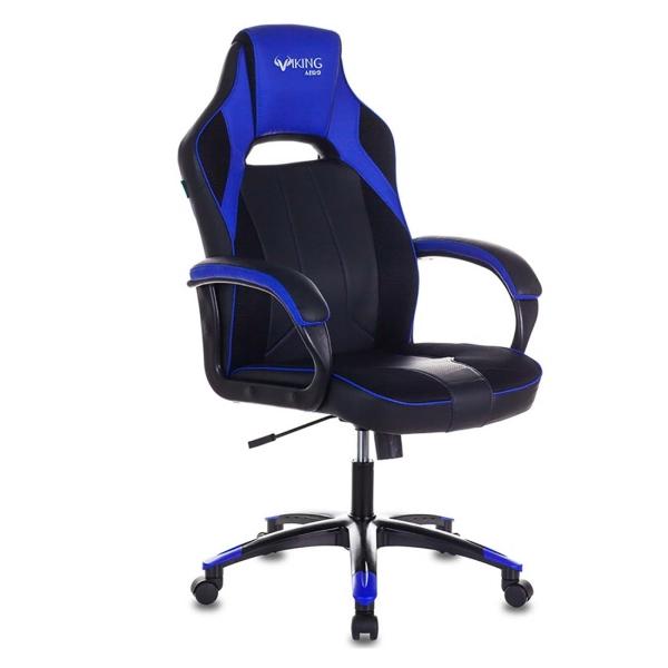 Кресло компьютерное игровое Бюрократ VIKING 2 AERO BLUE