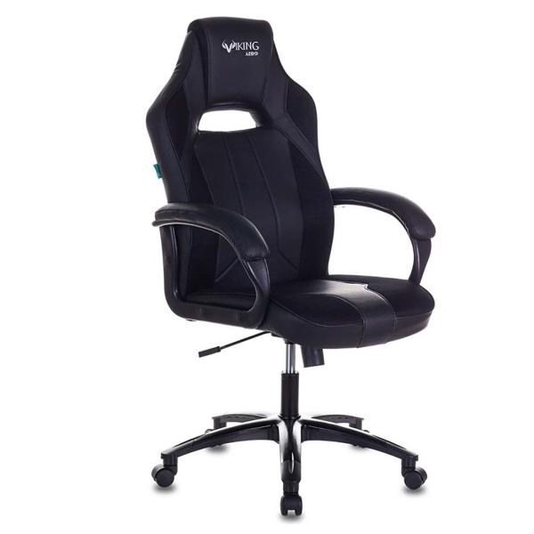Кресло компьютерное игровое Бюрократ VIKING 2 AERO BLACK EDITION
