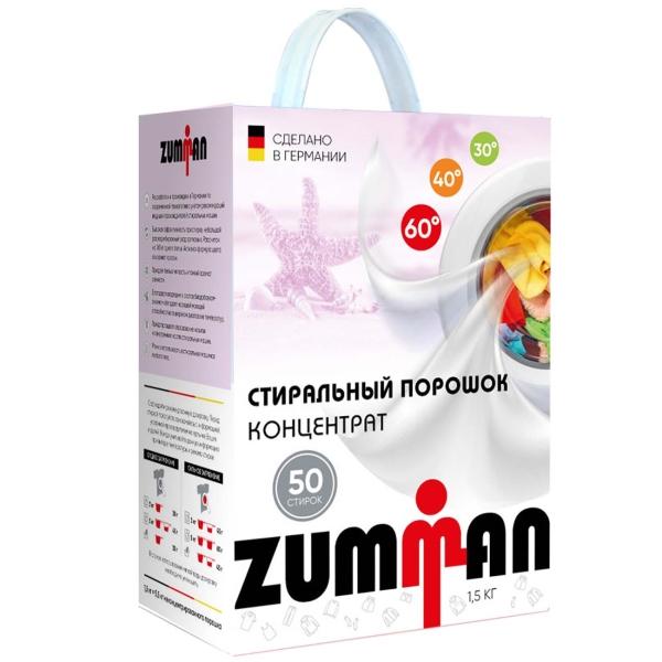 Стиральный порошок Zumman Color P02 белого цвета