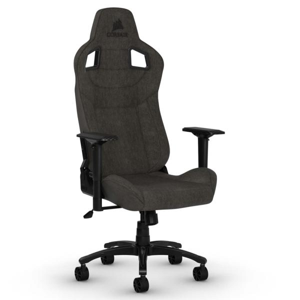 Кресло компьютерное игровое Corsair GamingT3 Rush Charcoal (CF-9010029-WW)