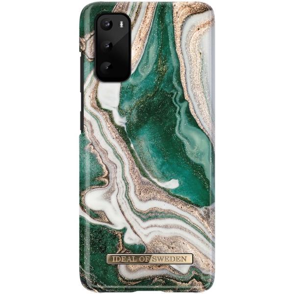 Чехол iDeal Of Sweden — Galaxy S20 Golden Jade Marble (IDFCAW18-S11E-98)