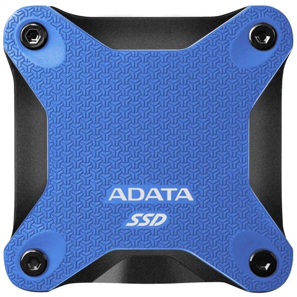 Внешний диск SSD ADATA 480GB SD600Q Blue (ASD600Q-480GU31-CBL)
