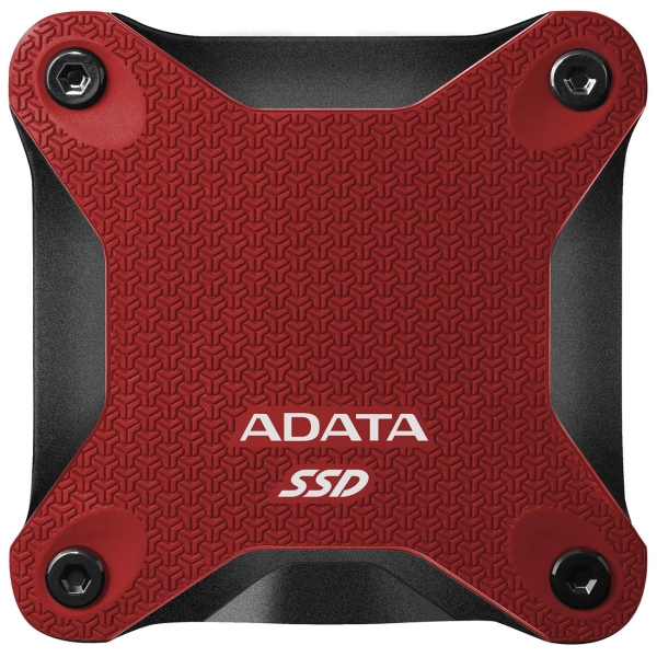 Внешний диск SSD ADATA 480GB SD600Q Red (ASD600Q-480GU31-CRD)