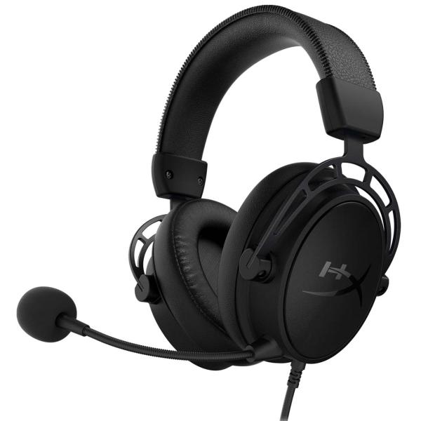 Игровые наушники HyperX — Cloud Alpha S Black (HX-HSCAS-BK/WW)