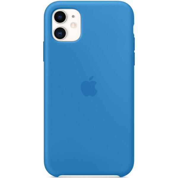 Чехол Apple iPhone 11 Silicone Case Surf Blue (MXYY2ZM/A) фото