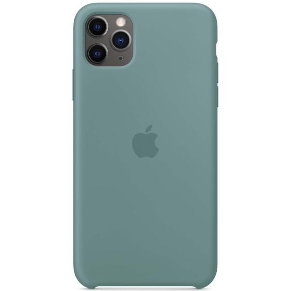 Чехол Apple iPhone 11 Pro Silicone Case Cactus (MY1C2ZM/A) фото