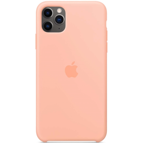 Чехол Apple — iPhone 11 Pro Max Silicone Case Grapefruit