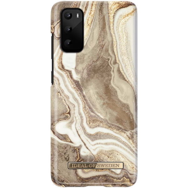 Чехол iDeal Of Sweden — Galaxy S20 Golden Sand Marble (IDFCGM19-S11E-164)