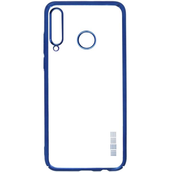 Чехол InterStep DECOR NEW MAT MV для Huawei P40 Lite E, Blue фото