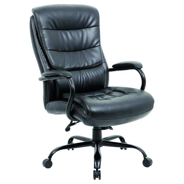 Кресло компьютерное Brabix Heavy Duty HD-004 Black (531942) фото