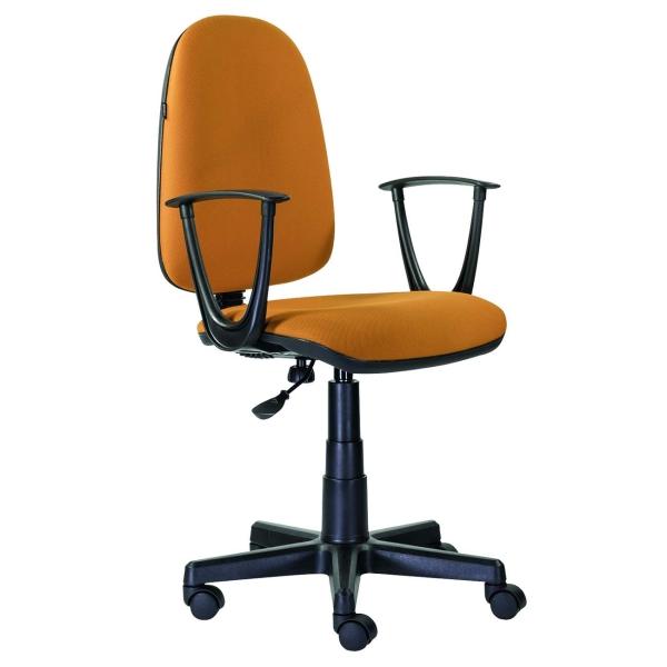 Кресло компьютерное Brabix Prestige Start MG-312 Orange (531922) фото