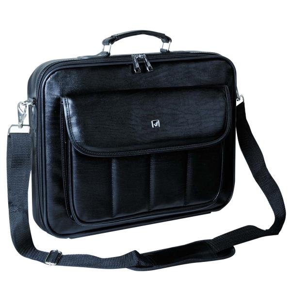 """Купить Кейс для ноутбука до 15"""" Brauberg Munchen Black (240445) в каталоге интернет магазина М.Видео по выгодной цене с доставкой, отзывы, фотографии - Саратов"""