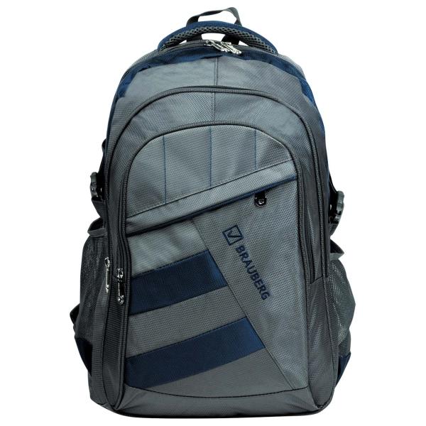 Рюкзак для ноутбука Brauberg MainStream 2 Grey/Blue (224446)