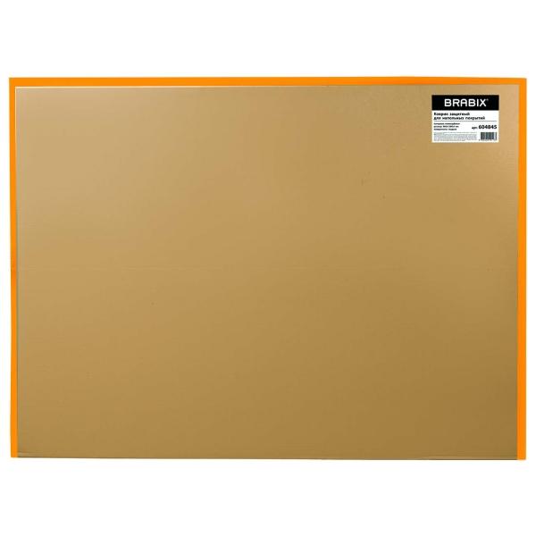 Коврик Brabix 90*120см Transparent (604845)