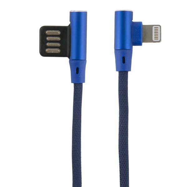 Кабель для iPod, iPhone, iPad Red Line Fit USB - Lightning, синий