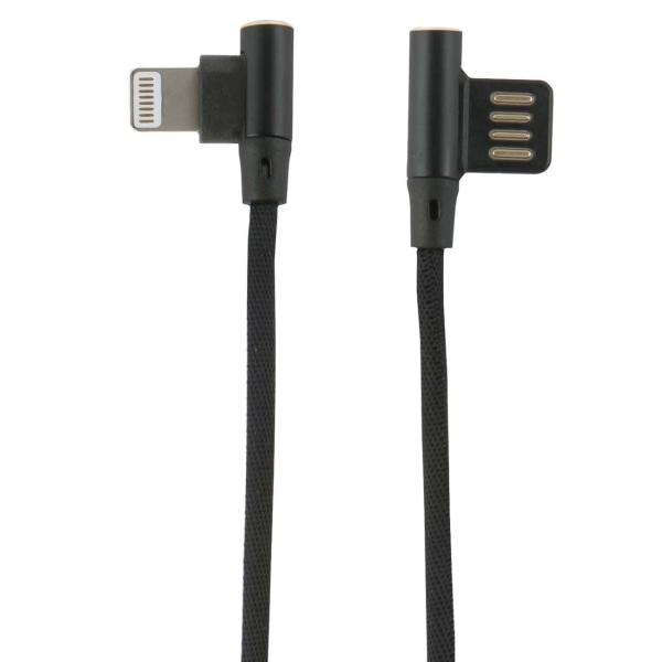 Кабель для iPod, iPhone, iPad Red Line Fit USB - Lightning, черный