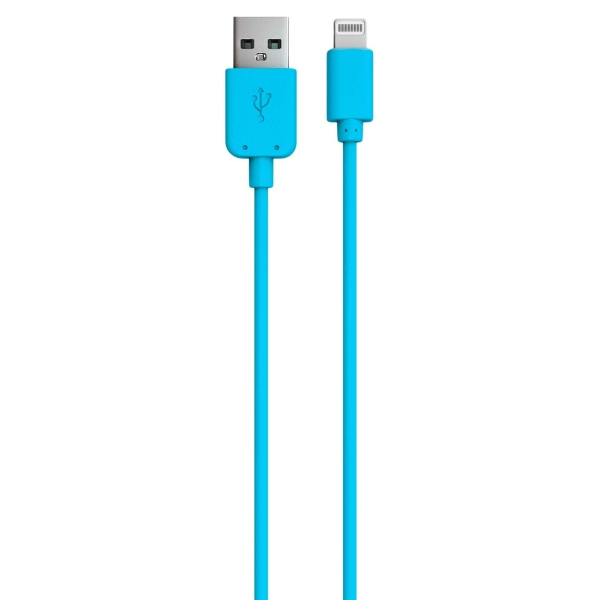 Кабель для iPod, iPhone, iPad Red Line USB - 8-pin синий