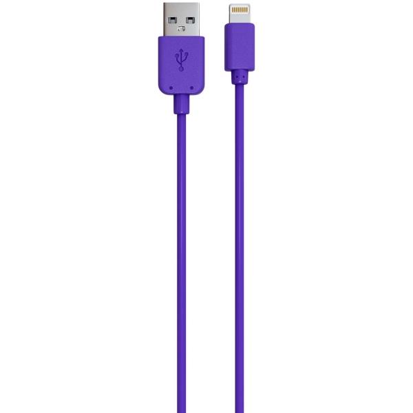 Кабель для iPod, iPhone, iPad Red Line USB - 8-pin фиолетовый
