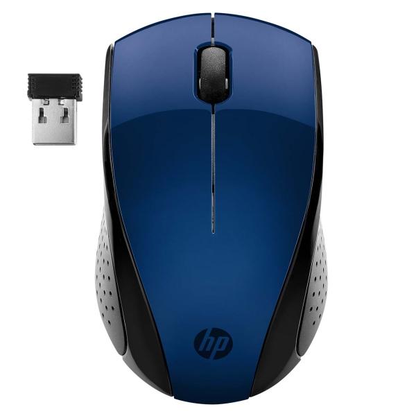Мышь беспроводная HP — 220 Blue