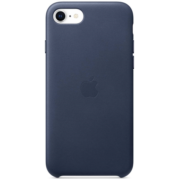 Чехол Apple iPhone SE 2020/7/8 Leather Case Midnight Blue фото