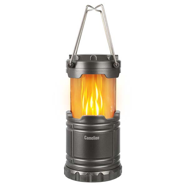 Фонарь бытовой Camelion — LED56321 для кемпинга титан