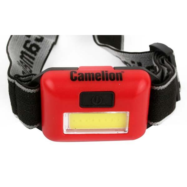 Фонарь бытовой Camelion LED5357 налобный красный