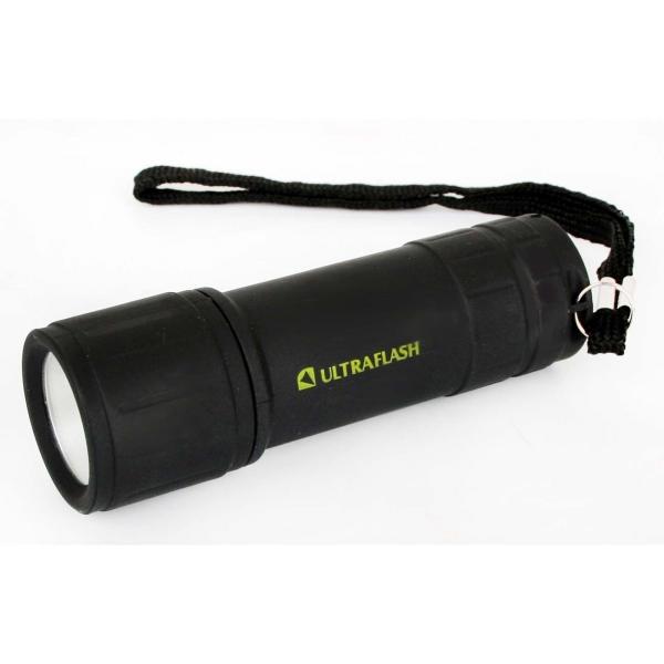 Фонарь бытовой Ultraflash — LED16001 черный