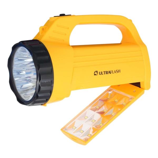 Фонарь бытовой Ultraflash — LED3819CSM желтый