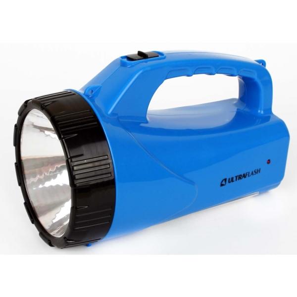 Фонарь бытовой Ultraflash — LED3818SM синий