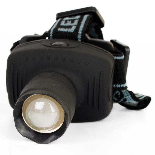 Фонарь бытовой Ultraflash — LED5354 налобный серый