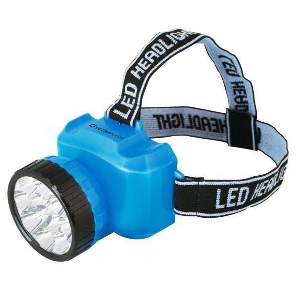 Фонарь бытовой Ultraflash — LED5361 налобный голубой