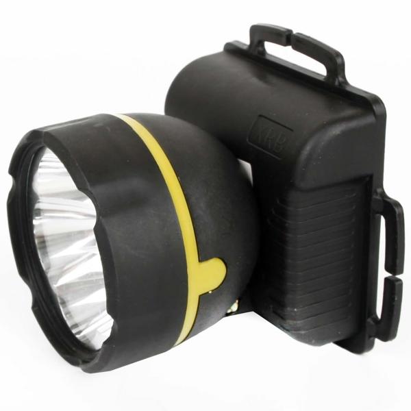 Фонарь бытовой Ultraflash — 909LED5 налобный черный