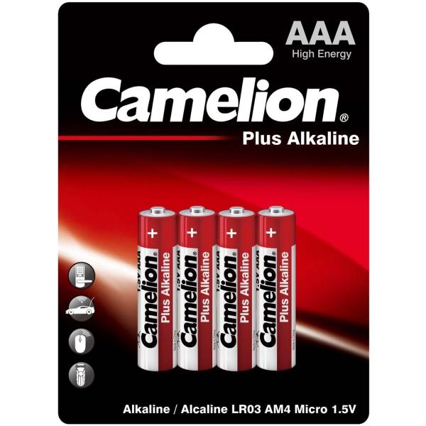 Батарея Camelion LR03 Plus Alkaline BL-4
