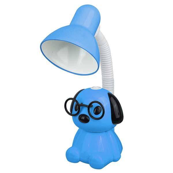 Светильник Camelion KD-396 C06 Собака настольный синий