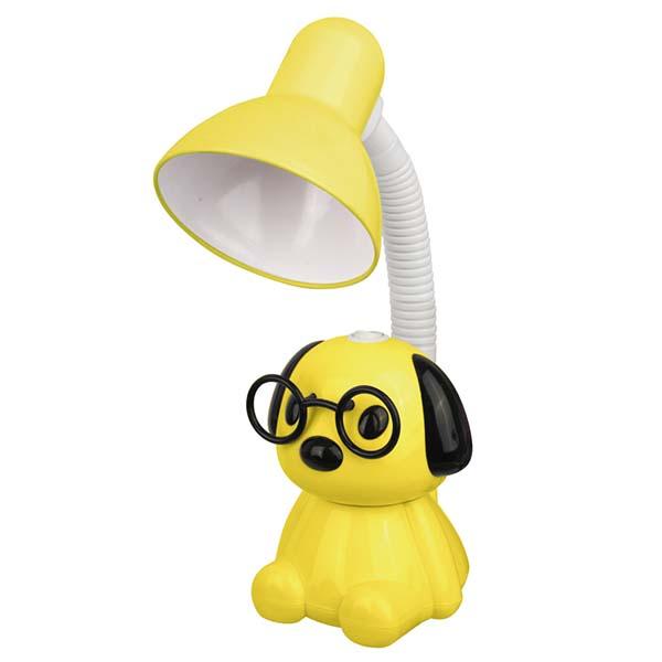 Светильник Camelion KD-396 C07 Собака настольный желтый