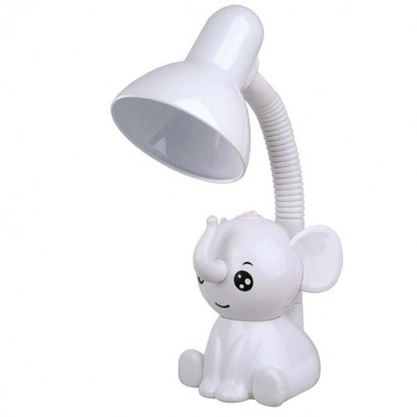 Светильник Camelion KD-397 C01 Слоник настольный белый