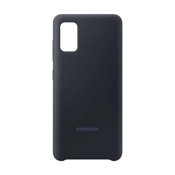 Чехол Samsung Silicone Cover A41 черный (EF-PA415TBEGRU) фото