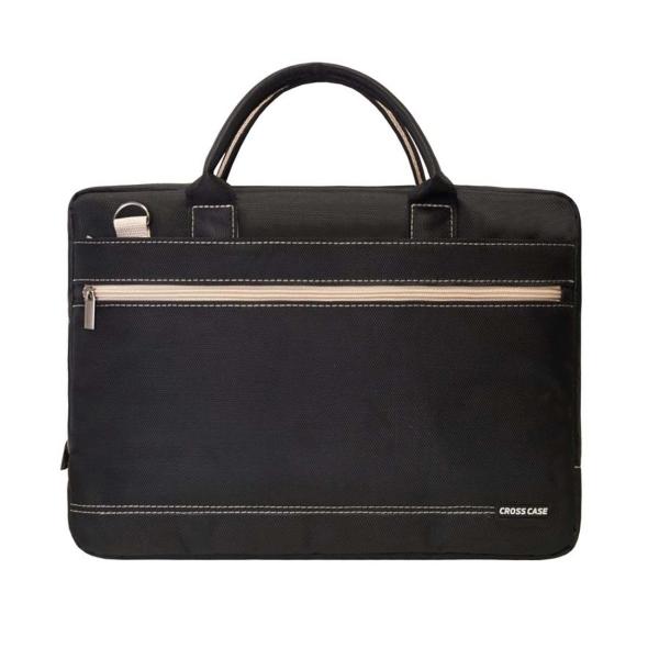 Кейс для ноутбука Cross Case, CC15-012 Black/Beige, черный/бежевый  - купить со скидкой