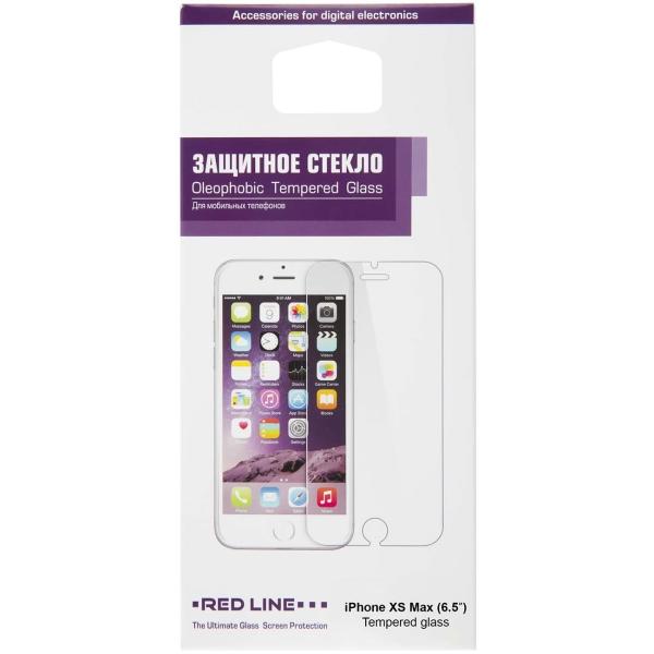Защитное стекло Red Line для iPhone XS Max (6.5\'\'), tempered glass