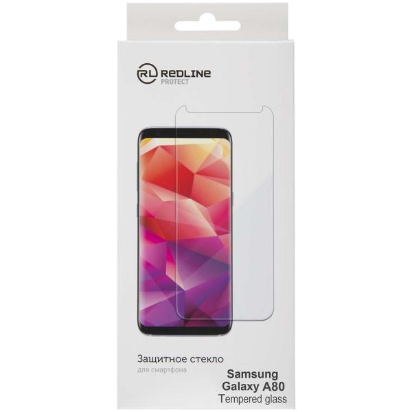 Защитное стекло для Samsung Red Line для Samsung Galaxy A80, tempered glass