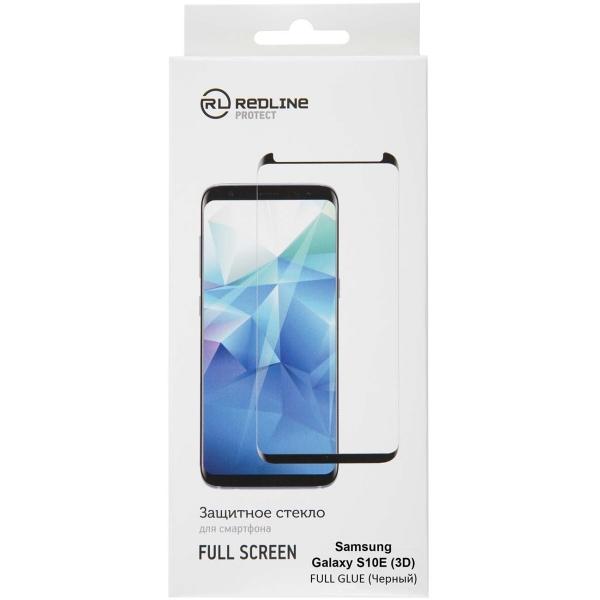 Защитное стекло для Samsung Red Line для Samsung Galaxy S10E, FScreen(3D) TG FG Black фото