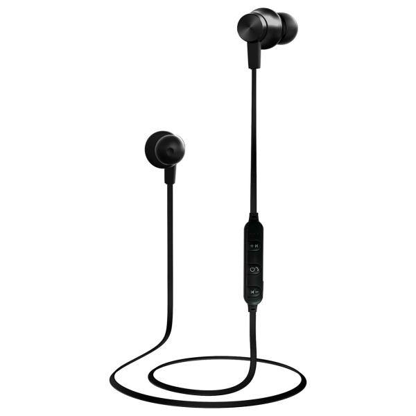 Наушники внутриканальные Bluetooth W.O.L.T. STN-140 Black