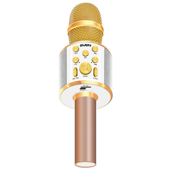 Микрофон беспроводной Sven MK-950 для караоке (Bluetooth, microSD)