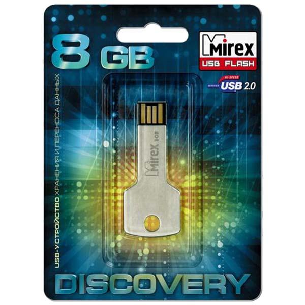 Флеш-диск Mirex 8GB Corner Key (13600-DVRCOK08)
