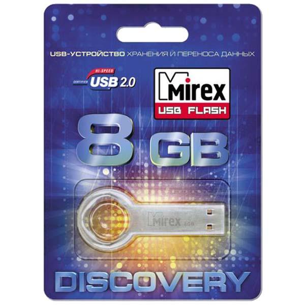 Флеш-диск Mirex 8GB Round Key (13600-DVRROK08)