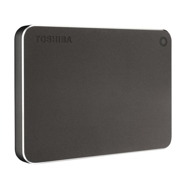 "Внешний жесткий диск 2.5"" Toshiba — 1TB Canvio Premium Dark Gray (HDTW210EB3AA)"